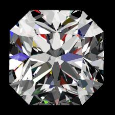 1 1/2ct Passion Fire Diamond, I SI-1 loose square
