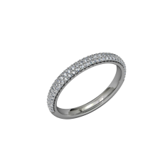 Eternity - Wedding Band - Palladium 2